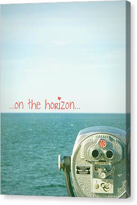 Canvas Print featuring the photograph On The Horizon by Robin Dickinson