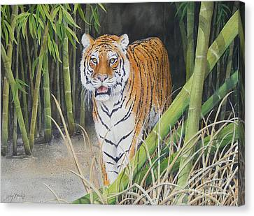 On The Prowl  Sold Prints Available Canvas Print