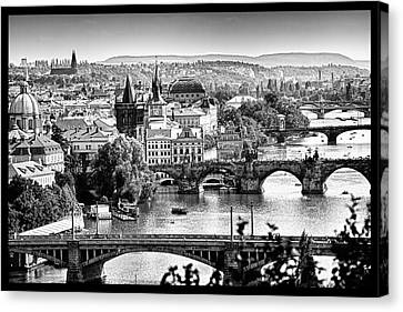 On The River Canvas Print by Jason Wolters