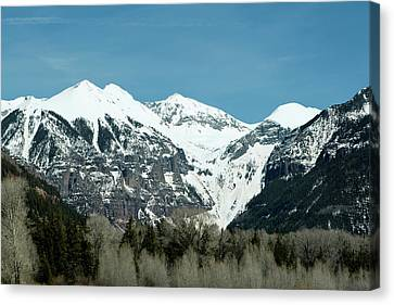 On The Road To Telluride Canvas Print