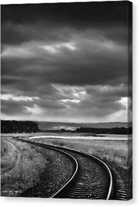 On The Track I. Canvas Print by Jaromir Hron