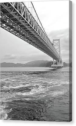 Onaruto Bridge Canvas Print by Miguel Castaneda