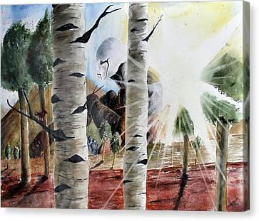 Once I Was A Dream Canvas Print by Amanda Ellis
