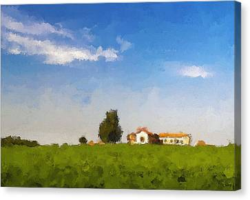 Once Upon A Time ... Canvas Print by Meir Ezrachi
