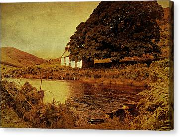 Once Upon A Time. Somewhere In Wicklow Mountains. Ireland Canvas Print by Jenny Rainbow