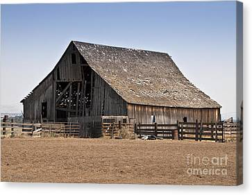 Once Was New Canvas Print by Larry Keahey