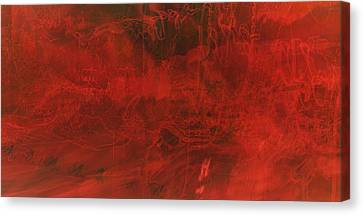 One Color Canvas Print by Amr Miqdadi