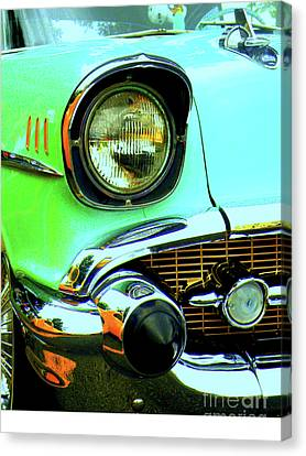Rusted Cars Canvas Print - One Eyed Monster by Joe Jake Pratt