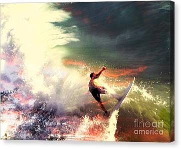 One Last Ride Canvas Print by Kevin Moore