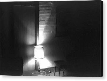 One Room One Light -- Ein Zimmer Ein Licht Canvas Print