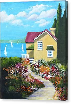 One Sunny Afternoon Canvas Print