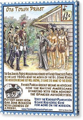 Plantation Canvas Print - One Tough Priest by Warren Clark