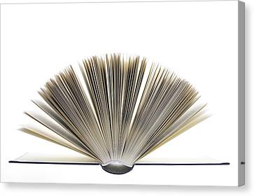 Open Book Canvas Print by Frank Tschakert
