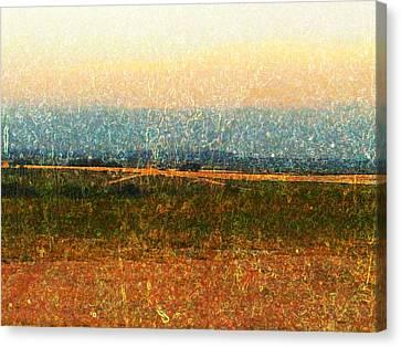 Open Horizon Canvas Print by Denisse Del Mar Guevara