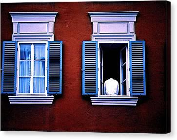 Open Window Canvas Print