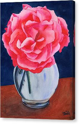 Opera Rose Canvas Print by Ken Powers