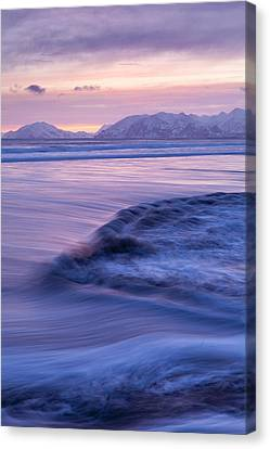 Opposing Waves Canvas Print