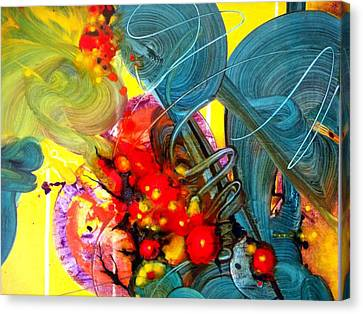 Opus - Four Canvas Print by Mudrow S