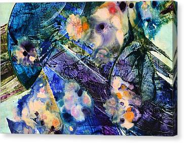 Opus - Seven Canvas Print by Mudrow S