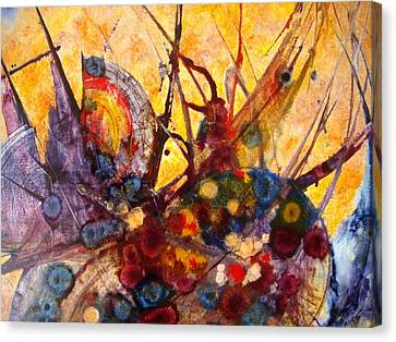 Opus - Three Canvas Print by Mudrow S