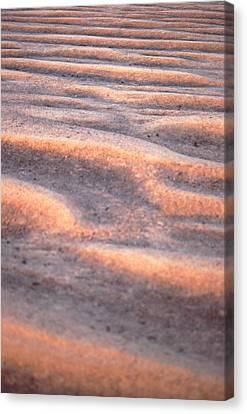 Orange Sand Canvas Print by John Foxx