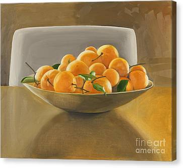 Oranges Canvas Print by Melissa Burke
