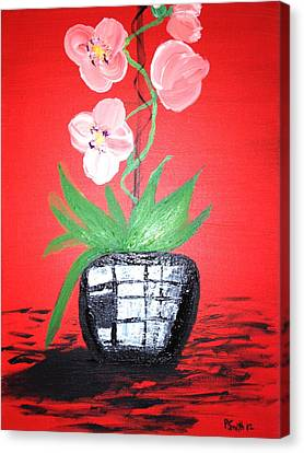 Orchids Canvas Print by Pretchill Smith