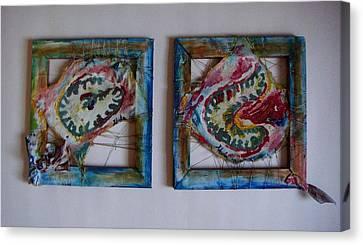 Organic Canvas Print by Neda Laketic