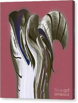 Organic Totem Canvas Print by David Klaboe