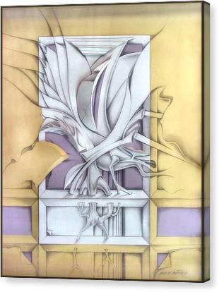 Organicomp 1991 Canvas Print by Glenn Bautista