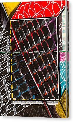 Organizational Sampling Canvas Print by Al Goldfarb