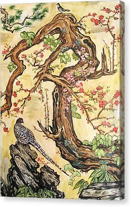 Oriental Landscape2 Canvas Print by Michail Noskov