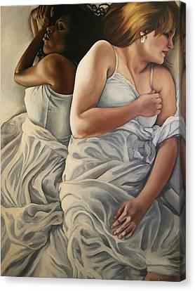 Origin Of Love 2 Canvas Print by Emily Jones