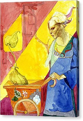 Origins 2 Canvas Print by Ellen Dreibelbis
