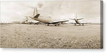 Orion P-3s Amarc - Tucson Canvas Print