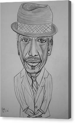 Ornette Canvas Print by Pete Maier