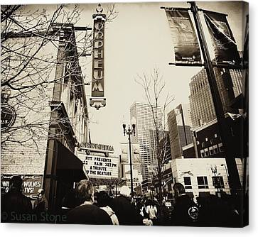 Orpheum Theatre Canvas Print by Susan Stone