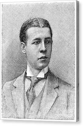 O.s. Campbell, 1891 Canvas Print by Granger