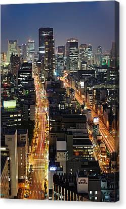 Osaka Canvas Print by Photo by ball1515