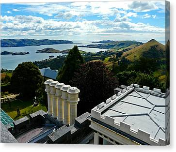 Otago From Larnach Castle Canvas Print