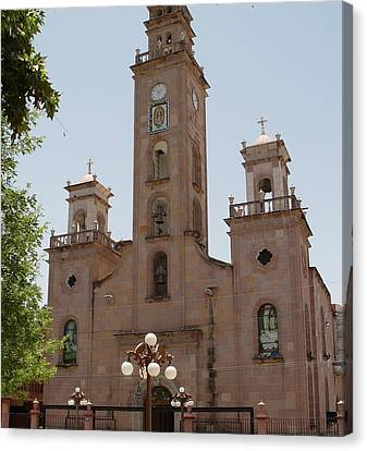 Our Lady Of Guadalupe Piedras Negras Mexico Canvas Print