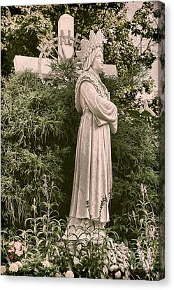 Our Lady Of La Salette Canvas Print by HD Connelly