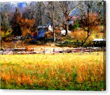 Canvas Print - Our View by Marilyn Sholin