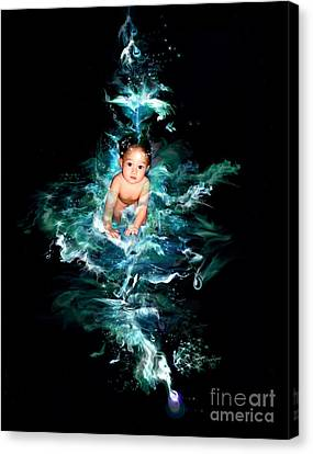 Our Water Child Canvas Print