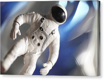 Out In Space Canvas Print by Greg Kopriva
