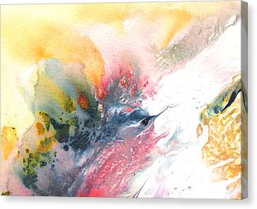 Out Of The Nest Canvas Print by Miki De Goodaboom