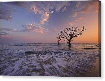 Out To Sea Canvas Print by Joseph Rossbach