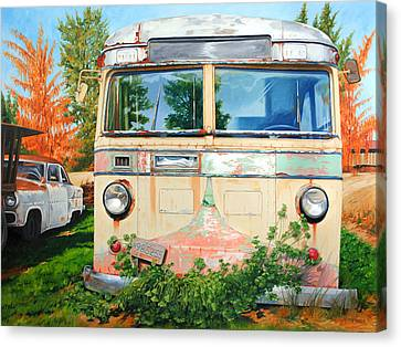 Out Where The Buses Don't Run Canvas Print