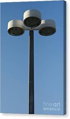 Outdoor Lamp Post Canvas Print