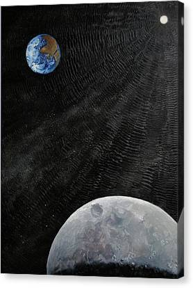Outer Space Canvas Print by Alan Schwartz